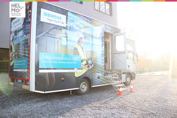 Siemens Safety Truck Roadshow à HELMo